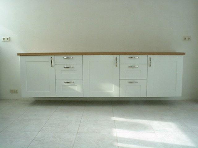 Meubels op maat timmerwerk meubelmaker geert veenstra - Werkblad bo is op maat ...