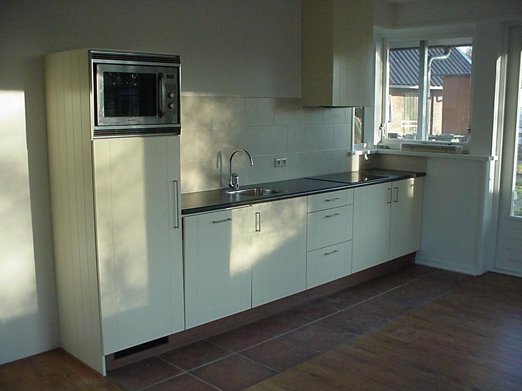Eiken Keuken Fronten : Keukens op maat Timmerwerk & Meubelmaker Geert Veenstra